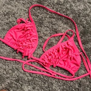 Other - Hot pink swim suit top